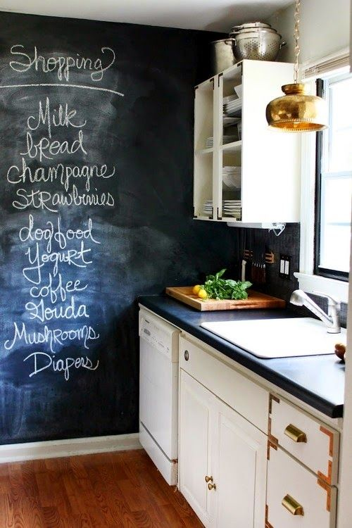 chalkboards-for-kitchen-best-25-kitchen-chalkboard-walls-ideas-on-pinterest-kids